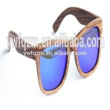 Lunettes de soleil de sport en bois de marque de haute qualité polarisées