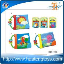 Großhandel pädagogischen Baby weichen Tuch Buch für Bett umgeben H147531