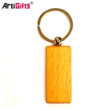 Le plus nouveau mode en gros porte-clés en bois