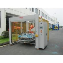 Máquina de soldadura ultrasónica robótica doble