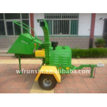 engine powered wood chipper with CE aproved