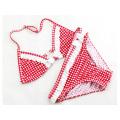 Two Piece Littlr Girls Casual Swimwear
