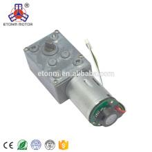 motor 12v da engrenagem de sem-fim com o motor pequeno do baixo ruído da CC do torque alto do RPM