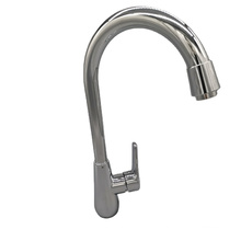 TOP SUS 304 Stainless steel Hot and Cold mixer  Kitchen Faucet