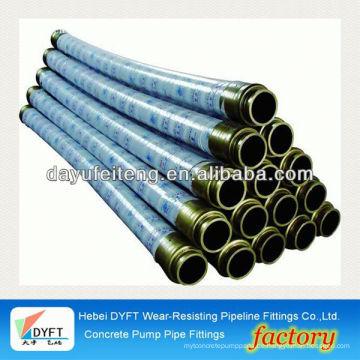 Schwing-Gewebeschlauch DN125 * 5.5M Beton-Anlieferungs-Pumpe Rohr- und Betonschlauchpreise