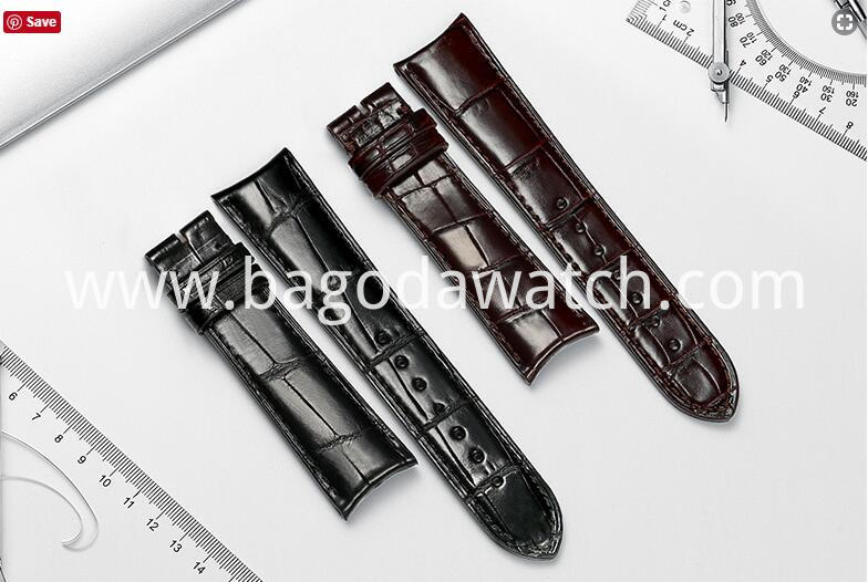 genuine crocodile leather watch strap