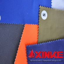 100% coton Tissu anti-acide et alcalin pour vêtements de travail