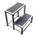 Stainless Steel Footstool with Single Steps