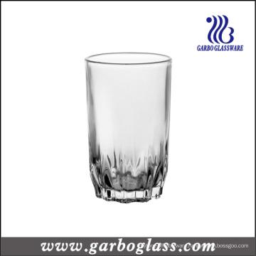 Diamond Bottom Crystal White Glass Tumbler (GB03037009)