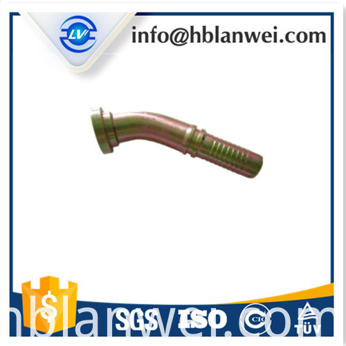 rubber hydraulic hose fitting