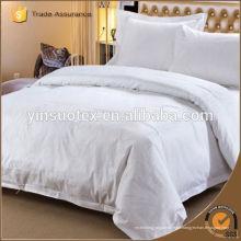 Tissu de literie d'hôtel, tissu de coton Sateen Choix de qualité