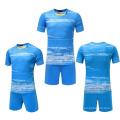 Camiseta de fútbol de la calidad tailandesa de 2017 wholeasle aduana su kit del uniforme del fútbol del logotipo