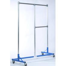 Magasin de meubles linge Rack Display cintre avec Castor (SLL-V020)