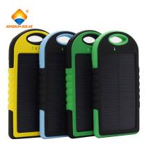 Banco de energia USB à prova d'água 5000mAh / 12000mAh Mobile Phone Carregador Solar