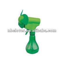 Ventilador de pulverizador de água handheld plástico