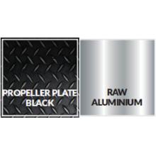 Schwarz glänzend beschichtete Oberfläche Aluminium Propellerplatte Legierung 3003 Temper H224