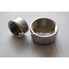 "2-1/2""ASME stainless steel 3000 class CAP (CB)"