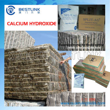 Calcium Hydroxide Composition Mortar for Rock Cracking Chemical