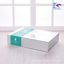 China fábrica de artesanato excelência cuidados com a pele terno caixa de embalagem