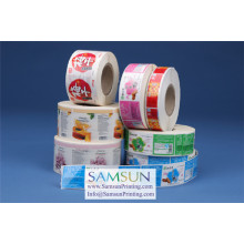 Label Printing, Custom Labels, Samsun Label Printing, Paper/Vinyl/PE/PP/BOPP/PET/PVC/Metallic Foil, Sticker Label Printing