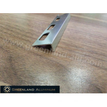 Hot Sale L Shape Tile Trim Made of Aluminium Profiles with Anodized Champagne Color