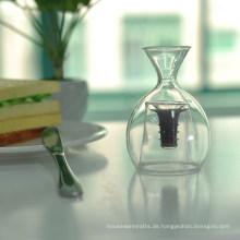 Hohes Borosilikat Einzigartiges Doppelwand-Glas