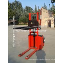 Suministro de nuevo apilador de palets eléctrico, carretilla elevadora eléctrica fabricados en China