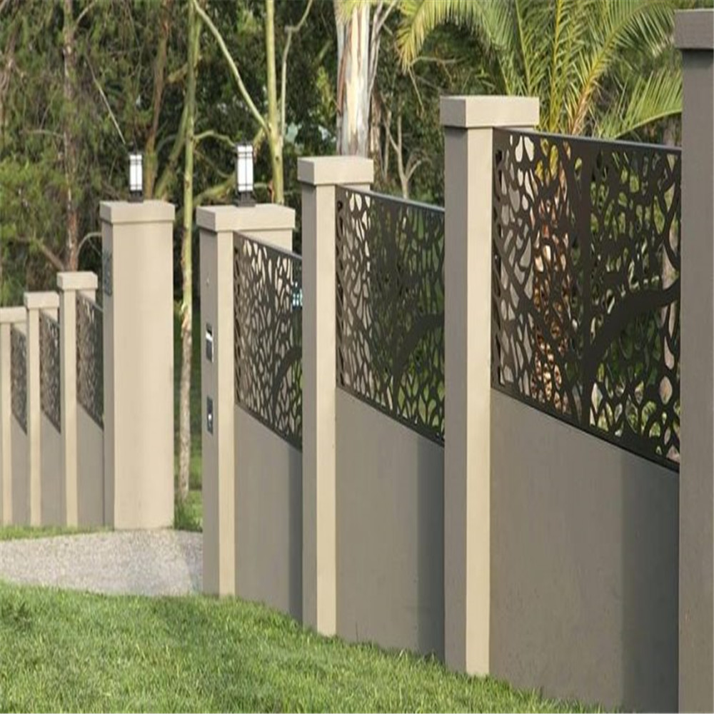 Steel Laser Cut Fence