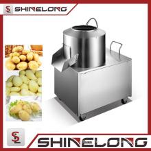 Vente chaude commerciale en acier inoxydable électrique éplucheur de pommes de terre