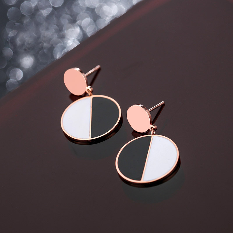 Stainless Steel Earrings Studs