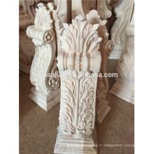 colonnes décoratives d'intérieur