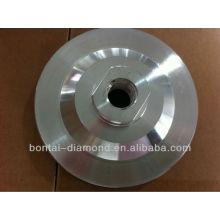 Almohadilla de aluminio con velcro