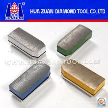 High Gloss Diamond Fickert Abrasive Block for Granite Polishing