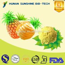 Preços por atacado do alimento nenhum açúcar adicionado & pó natural puro do abacaxi