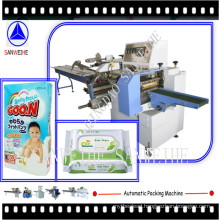 Baby Diapers Automatic Flow Wrapping Machine