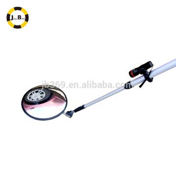 Круглое зеркало инспекции по выдаче автомобиля с ручкой
