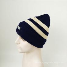 Mulheres de malha de inverno mão chapéus