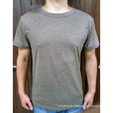 Cotton Blend Wholesale Cheap High Quality Custom Plain Men′s T Shirt