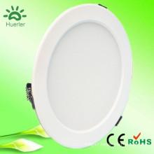 new white led downlight with 150mm cut out 100-240v 110v 220v smd5730 15w indoor led light fixtures