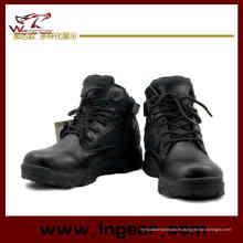 516 Del ejército táctico botas botas militares botas altas negro