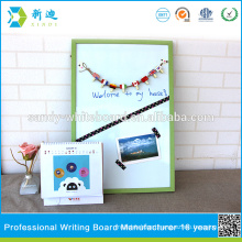 green frame small magnetic standard whiteboard