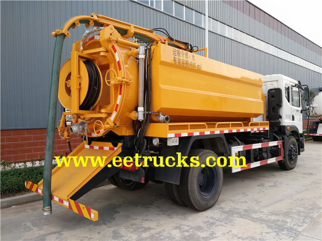 7000 Liters Fecal Suction Trucks