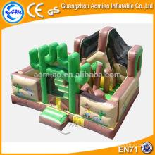 Curso de obstáculos divertido para niños, curso de obstáculos indoor comercial / curso de importación para la venta