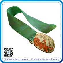 Ruban de cou de médailles personnalisées pour les sports