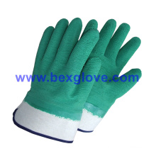 Latex Coated Glove, Safety Cuff