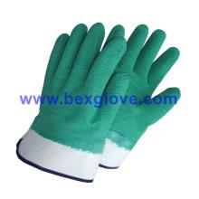 Перчатки с латексным покрытием, защитная манжета