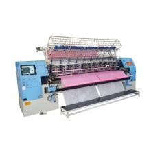 Yuxing 128 pulgadas máquina de acolchado de agujas múltiples lanzadera de alta velocidad