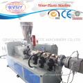 Extrusión plástica del suelo del perfil de PE WPC que hace la máquina