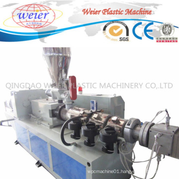 PE WPC Profile Flooring Plastic Extrusion Making Machine