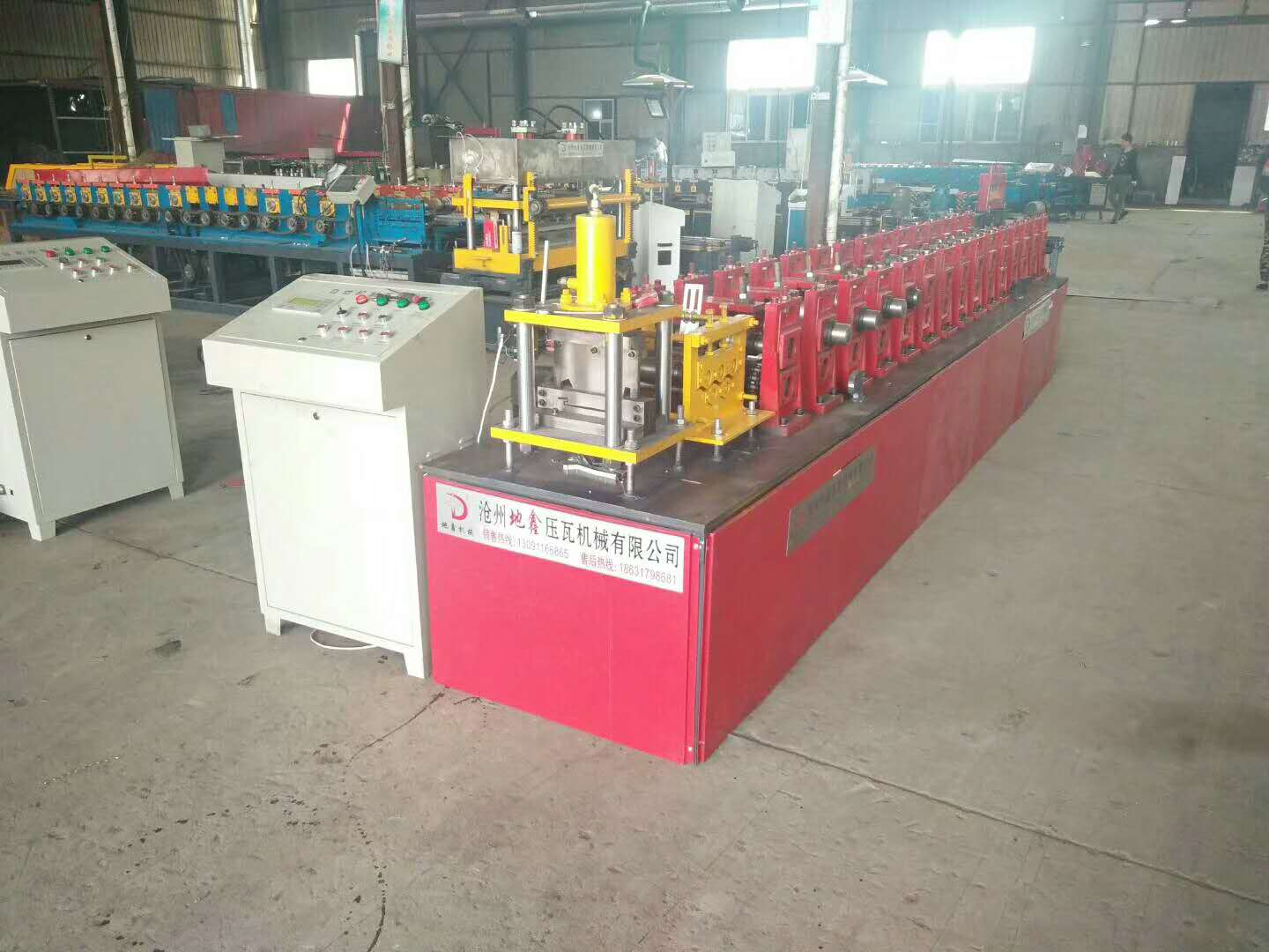 High speed Siding wall roll forming machine